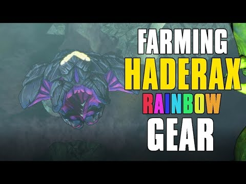 Farming Rainbow Gear From Haderax The Invincible Borderlands 2