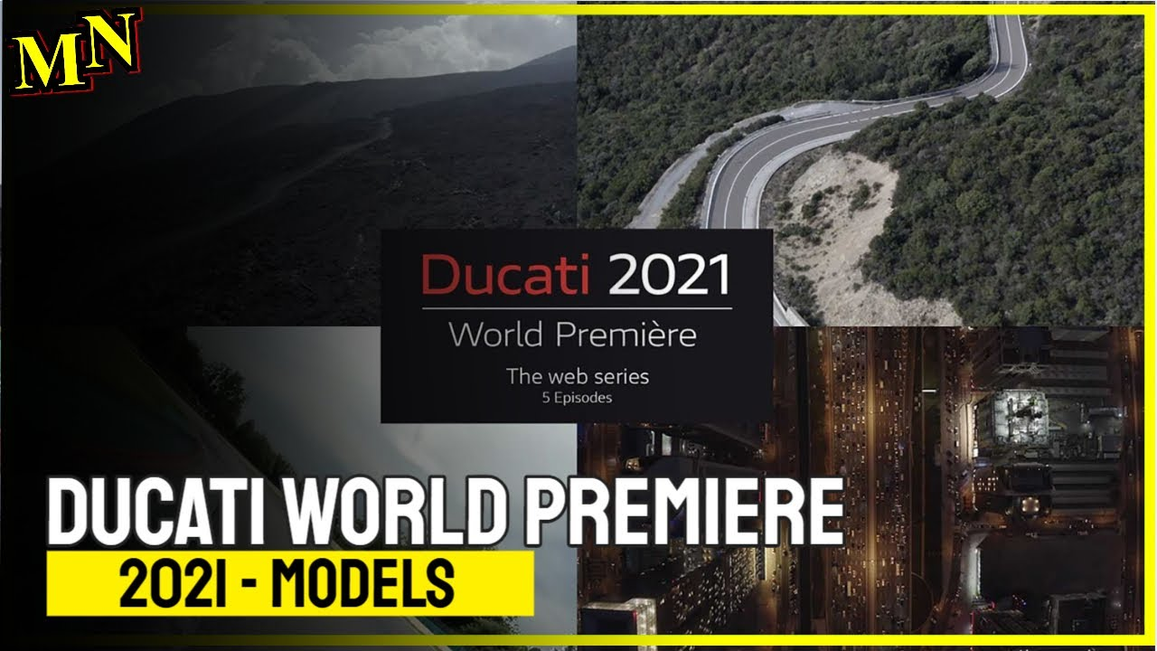 Ducati new introductions come via web series