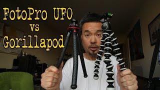 Fotopro UFO VS Gorillapod Tripod (VLOG#107)
