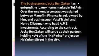 Jacky Ben-Zaken - From The Press