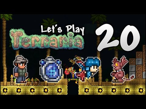 Let's Play Modded Terraria 1 3 Ep  32 - Hellavator - игровое