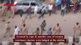 Massive Protests Over Telangana Vet Rape Murder Across Parts Of India; 3 Cops Suspended