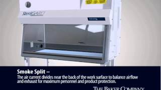Baker Class II, Type A2 Biosafety Cabinet - How it works