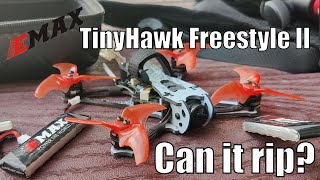 Can the EMAX TinyHawk 2 Freestyle FPV drone actually rip freestyle?   One pack proof that it can!
