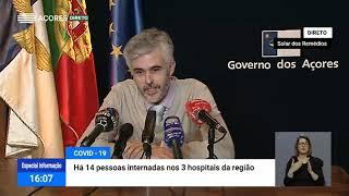 02/04: Ponto de Situação da Autoridade de Saúde Regional sobre o Coronavírus nos Açores