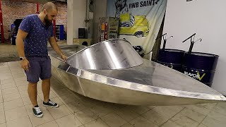 Строим летающую лодку. НОВЫЙ ПРОЕКТ.