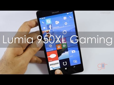 Lumia 950XL Gaming Review Smartphone with Liquid Cooling
