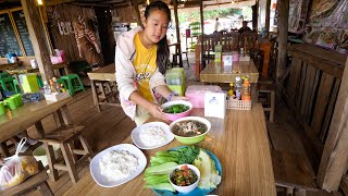 Hmong Food in Thailand!! Day Trip to Mon Jam (ม่อนแจ่ม) Mountain Village! | Chiang Mai