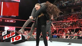 Top 10 Raw moments: WWE Top 10, March 6, 2018 - Video Youtube