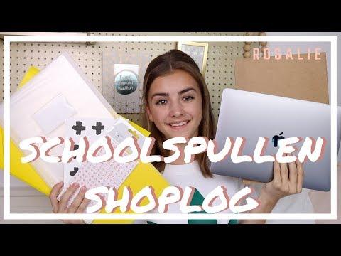 SCHOOLSPULLEN SHOPLOG | R O S A L I E