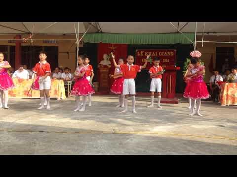 Tiết mục múa khối tiểu học mừng khai giảng năm học mới 2019 - 2020