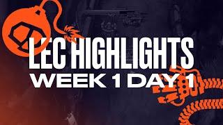 LEC : le Full Day Highlights Summer Split - semaine 1