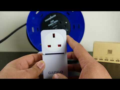 GUUDGO GD-MD02 Waterproof Socket Music Doorbell 52 Melody