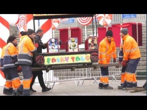 გასართობი ატრაქციონები კარვების ქალაქის ნაცვლად - აქცია პარლამენტთან
