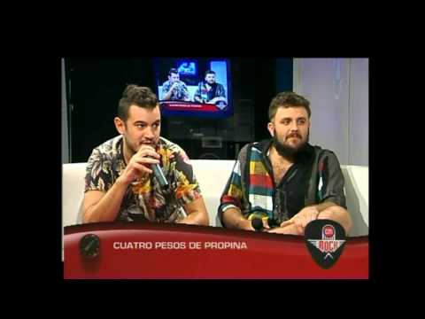 Cuatro Pesos de Propina video CM Rock 2016 - Entrevista
