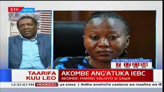 Prof. Herman Manyora azungumzia kujiuzulu kwake kamishina Akombe