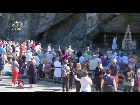 Chapelet du 2 septembre 2020 à Lourdes