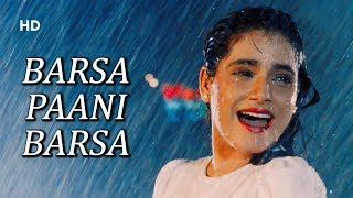 Barsa Paani Barsa | Kasak (1992) | Neelam Kothari   - YouTube