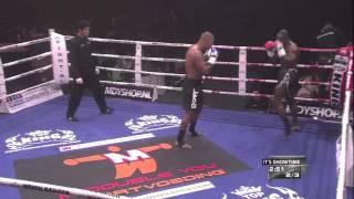 Tyrone Spong: Right Low-Kick