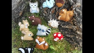 How To Make Felt Woodland Creatures