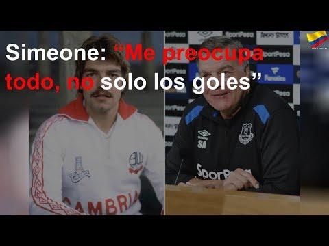 """Simeone: """"Me preocupa todo, no solo los goles"""""""
