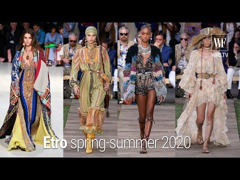 Etro spring-summer 2020 Milan fashion week