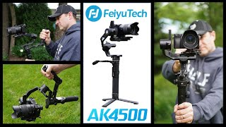 FeiyuTech AK4500 - HUGE Payload, Small Gimbal - This beautiful gimbal is a keeper!