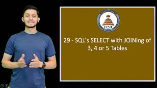 Oracle APEX Tutorial 29   SQL's SELECT with JOINing of 3, 4 or 5 Tables