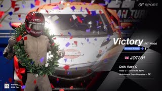 JOT381 GRAN TURISMO SPORT 240618 LAGO MAGGIORE HONDA NSX 2nd to 1st ONLINE RACE 8 LAPS 547th WIN