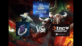 TNC PREDATOR VS KEEN GAMING WESG GRANDFINALS GAME 2 HIGHLIGHTS (KUKU CASTER)