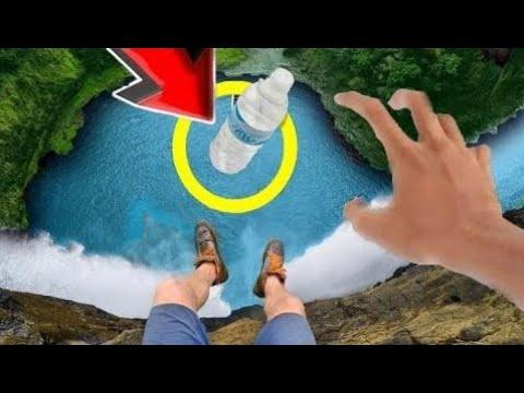 TOP 98 Ultimate WATER BOTTLE Flip CHALLENGE! (Water Bottle Flips Trick Shots Challenge Compilation) (видео)