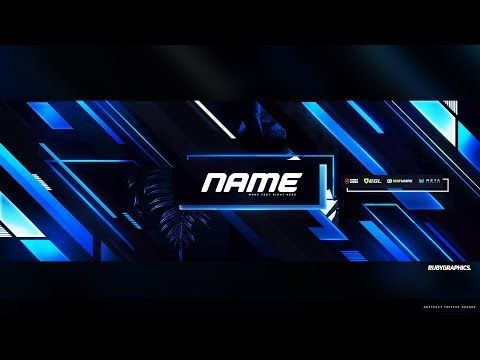 FREE GFX: Free Photoshop Twitter Header Template: Epic