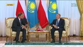 Президенты Казахстана и Польши провели встречу в расширенном составе