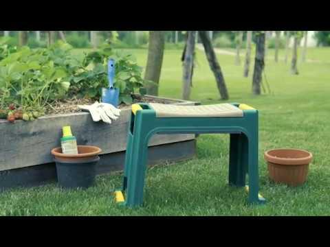 Sgabello inginocchiatoio da giardino dmail