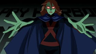 Miss Martian - All Powers & Fight Scenes (Young Justice S01)