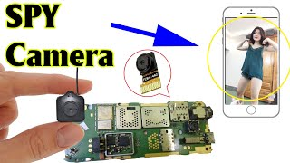 Make SPY CAMERA from old phone | scientific ideas 2020