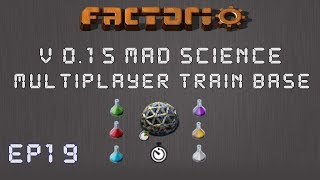 Factorio 0 15 Mad Science Ep 15: Bot Based Builds