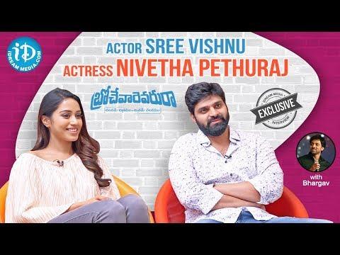 Brochevarevarura Team Exclusive Interview || Sree Vishnu || Nivetha || Talking Movies With iDream