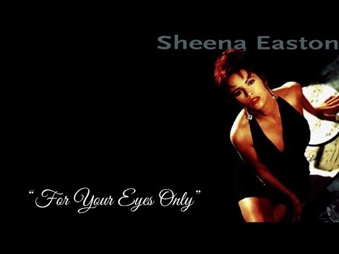 For Your Eyes Only (w/lyrics)  ~  Sheena Easton