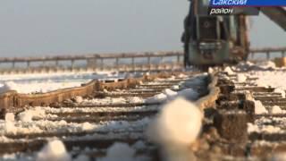 Рекордный урожай соли дало озеро Сасык-Сиваш