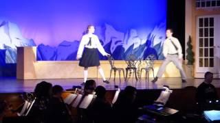 """Liesl & Rolf's Scene & Song- """"Sixteen Going on Seventeen"""" with Jordan & Dan (dress rehearsal 2-1-17)"""