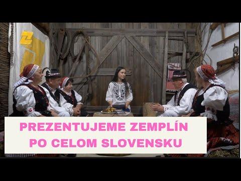 FOLKLÓR NA ZEMPLÍNE - Folklórna spevácka skupina Záhorčan