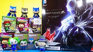 Batman Toys Videos Awesome Play Arts Figure DC Scribblenauts Series 1 2 3 Disney Cars Toy Club DCTC