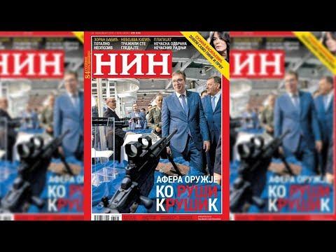 """Ministar odbrane Aleksandar Vulin izjavio je danas da je fotografija sa naslovne strane sutrašnjeg NIN-a """"slika bolesne mržnje"""" i poziv na likvidaciju predsednika Aleksandra Vučića."""