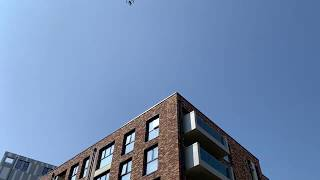 Drone inspection of building facade for cladding/building defects