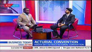 Business Today 13th November 2017 - Discussion on Actuarial Convention