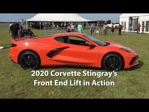 2020 Corvette Stingray Front Lift System успешно используется