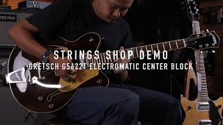 STRINGS SHOP DEMO : GRETSCH G5622T ELECTROMATIC CENTER BLOCK