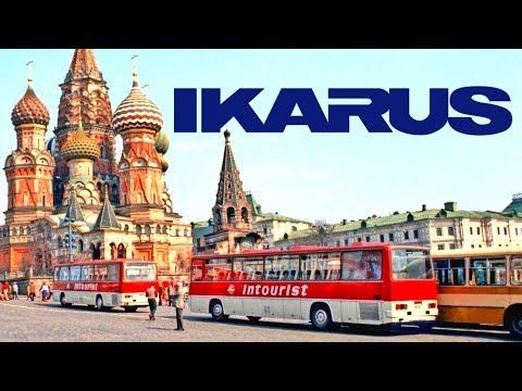 Иномарки в СССР : Автобусы Ikarus Грузовики Csepel Dutra Внедорожники ARO [ АВТО СССР #1 ]