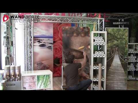 Türfolien blasenfrei Ankleben. Montage-Video von WANDWORTE